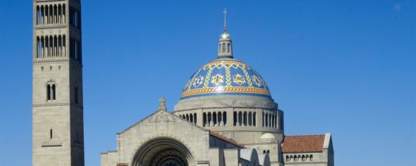 File Photo of the Basilica of the National Shrine of the Immaculate Conception