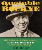 "Knute Rockne on Book Cover ""Quotable Rockne"""