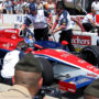 Race Car in Pits File Photo