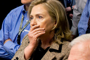 Hillary Rodham Clinton file photo, during raid on Bin Laden