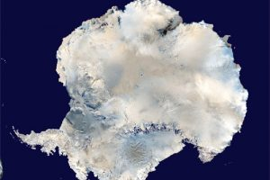 Antarctica Aerial Image adapted from image at nasa.gov
