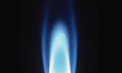 File Photo of Gas Flame, adapted from image at energy.gov
