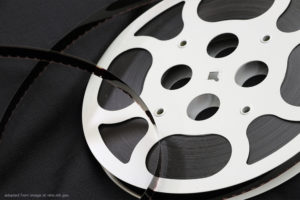Reel of Film, adapted from image at nih.gov