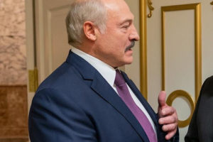 Alexander Lukashenko file photo, adapted from image at usembassy.gov